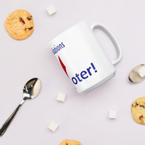 voter mug product photo